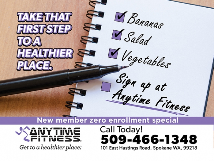 <p>Anytime Fitness</p>